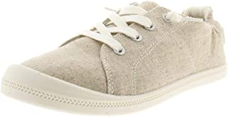 Material Girl Womens Brooke Canvas Padded Insole Casual Shoes US