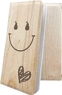 ZenFone5Q ZC600KL ケース 手帳型 スマイル ニコちゃん 木目 木目調 ウッド 木 wood ゼンフォン5q ゼンフォン5 手帳型ケース ハート love kiss キス 唇 zenfone 5q 5 q ハワイアン ハワイ 夏 海