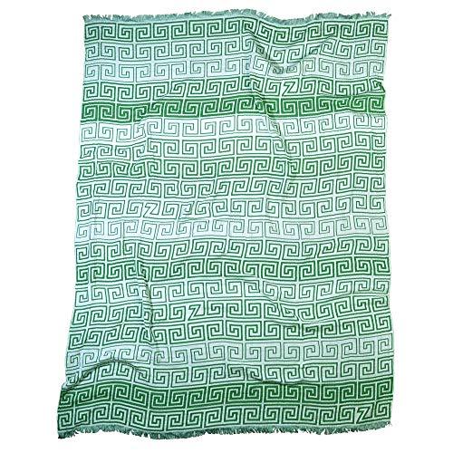 Zoeppritz Leg - Manta (145 x 190 cm), Color Verde