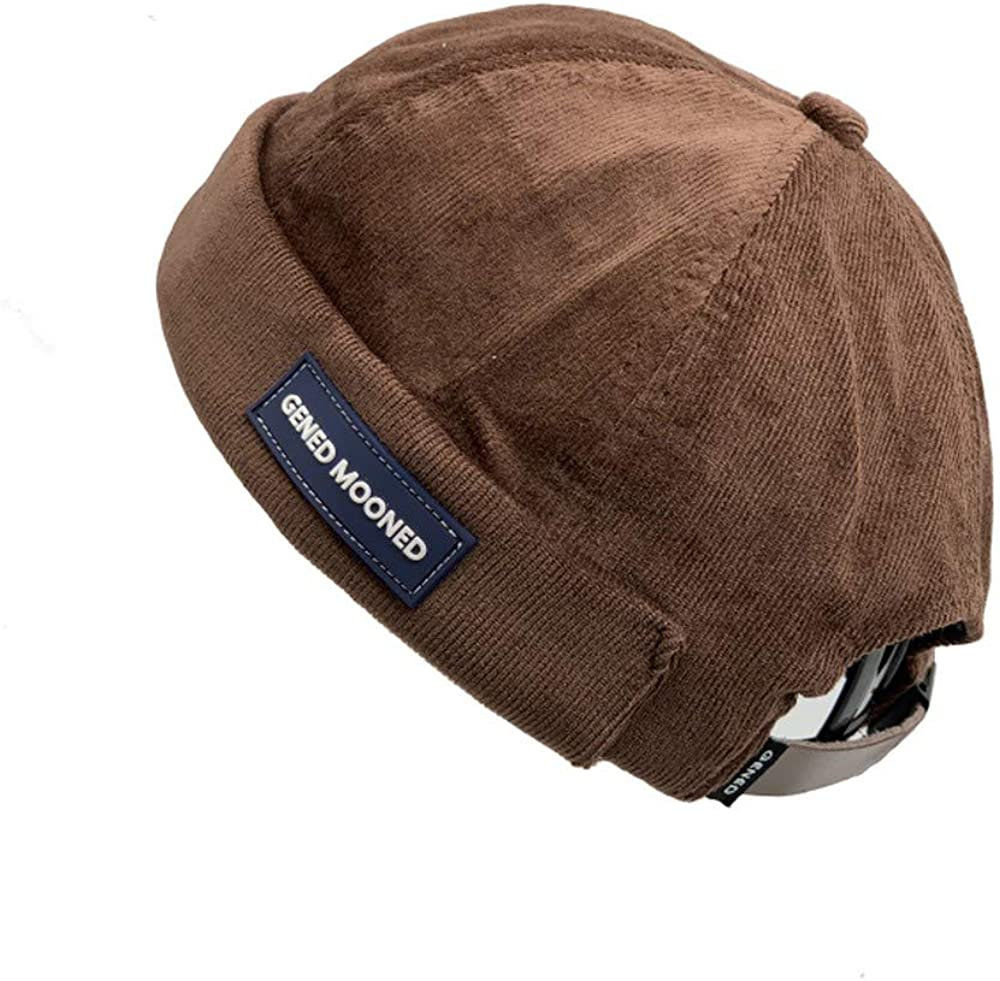 Clape Skullcap shop New item Beanie Worker Sailorcap Cuff Harb Corduroy Rolled