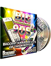 Mr Entertainer Big Karaoke Hits of The 90's (Nineties) - Double CD+G (CDG) Pack. 40 Classic Songs. música de los noventa