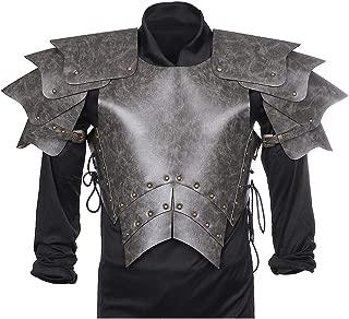 Medieval Knight Armor Soilder Warrior Halloween Cosplay Leather Body Armor