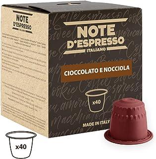 comprar comparacion Note D'Espresso Cápsulas de Chocolate con Avellana - 40 x 7 g, Total: 280 g