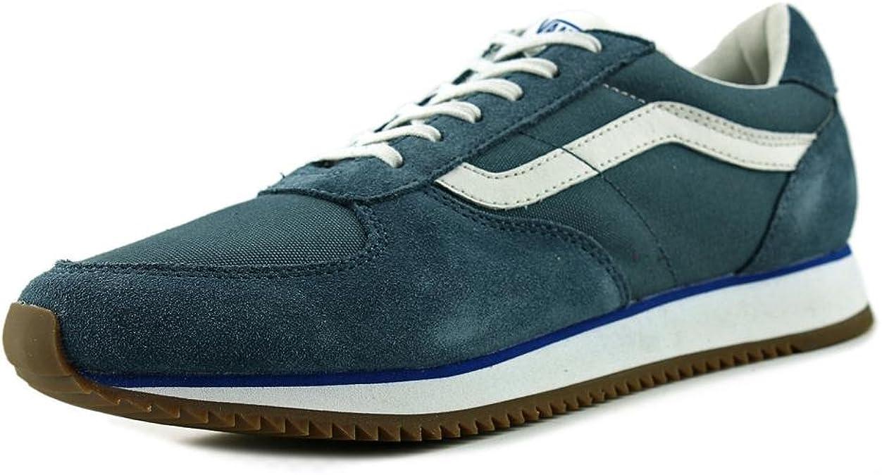 Vans Mens Runner (OG) Blue Fashion Sneakers (9 D ... - Amazon.com