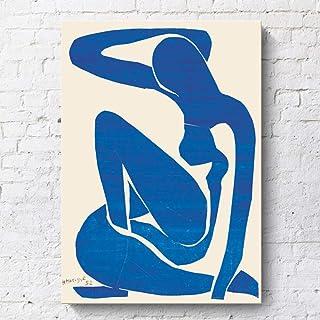 NBHHDH Impression sur Toile,Abstract Copie De Matisse Cafe,15/×20Cm Couloir ,Hotel Salon Photos Poster Print Home Decor,Pas De Cadre pour Chambre /À Coucher