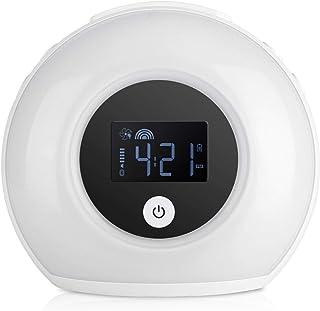 Socobeta Väckarklocka bluetooth högtalare ljus väckarklocka fint utförande lätt att använda hög tillförlitlighet färgglad ...