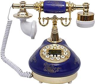 Retro Phone, European Turntable Retro Landline/Vintage Phone - Ceramic, Suitable For Home Office Living Room Decoration Re...
