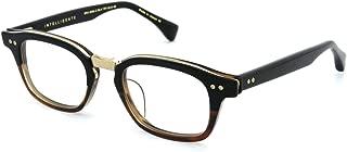 INTELLIGENTE DRX-2050-C-BLK-TRT-GLD-48 Eyeglasses Black to Tortoise Fade - Antique 12K Gold 48mm