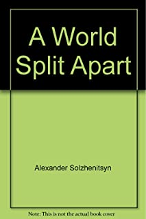 A World Split Apart