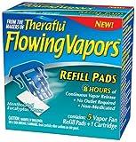 TheraFlu Flowing Vapors, Vapor Fan Refill Pads, 5 Count (Pack of 3)