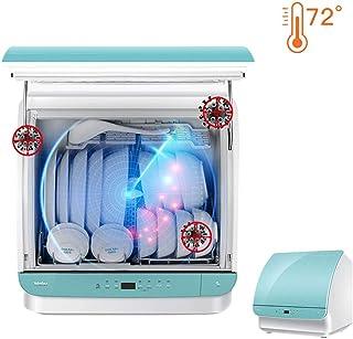 Dongyibing Lavavajillas Doméstico Lavavajillas Completamente Automático Mini Lavavajillas Lavavajillas Independiente Varios Métodos De Instalación (Color : Blue, Size : 48.5 * 37 * 47.5cm)