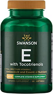 Swanson Full Spectrum Vitamin E with Tocotrienols 120 Sgels