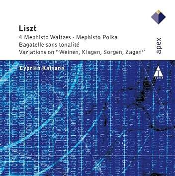 Liszt : 4 Mephisto Waltzes, Bénédiction & Variations on 'Weinen, Klagen, Sorgen, Zagen'