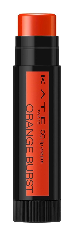 船尾クスコ否定するケイト CCリップクリームN 04 ORANGE BURST 血色感のあるオレンジ