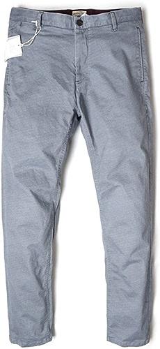 Dufjodi Mode Hommes Hommes Un Pantalon Slim Pur Coton Pantalons Tout Match Occasionnel Lavage,gris Clair,Trente - Huit