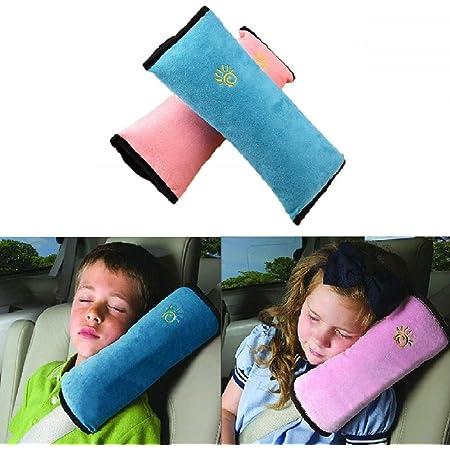 Protezioni Comfort per Cintura di Sicurezza Auto Fascia imbottita di rivestimento per la cintura di sicurezza auto 4 Pezzi Viaggio Ammortizzatori