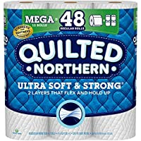 12-Count Quilted Northern Ultra Soft and Strong Mega Rolls Toilet Paper