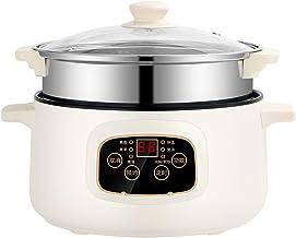 Shabu Shabu Hot Pot, friteuse électrique multifonction de qualité supérieure, antiadhésive, poêle à frire, cuisinière élec...