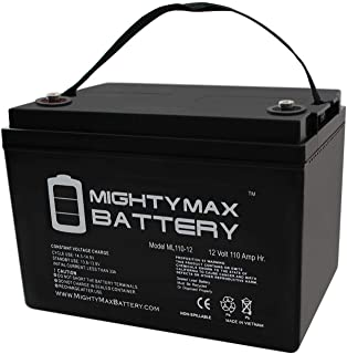 Mighty Max Battery 12V 110AH SLA Replaces Solar Forklift Lighting Deep Cycle Battery Brand Product