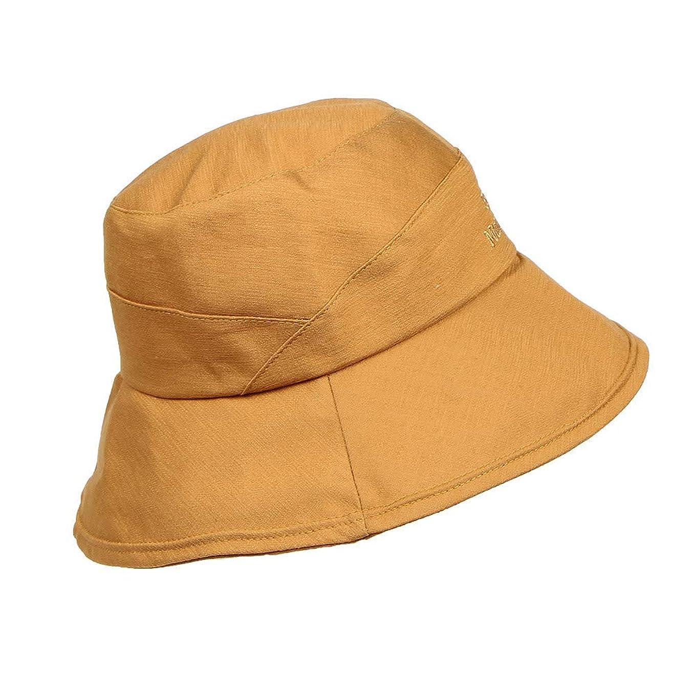 あいさつ細い全能帽子 レディース 夏 女性 ファッション小物 漁師帽 ハット UVカット 帽子 日焼け防止 UV 100% カット つば広 折りたたみ 小顔効果 おしゃれ 可愛い サファリハット 紫外線 日よけ UVケア 発送 ROSE ROMAN