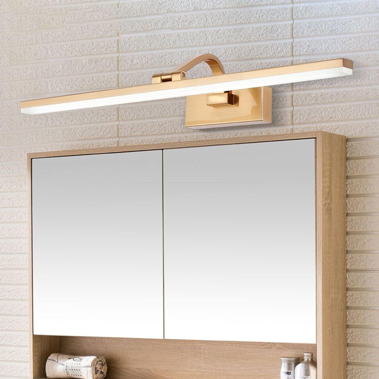 LED Spiegel Frontleuchte Einfache Moderne Badezimmerlampe Vanity Light Make-Up Wandleuchte Spiegel Lampen Wasserdicht Anti-Fog Badezimmer Leuchte,41CM