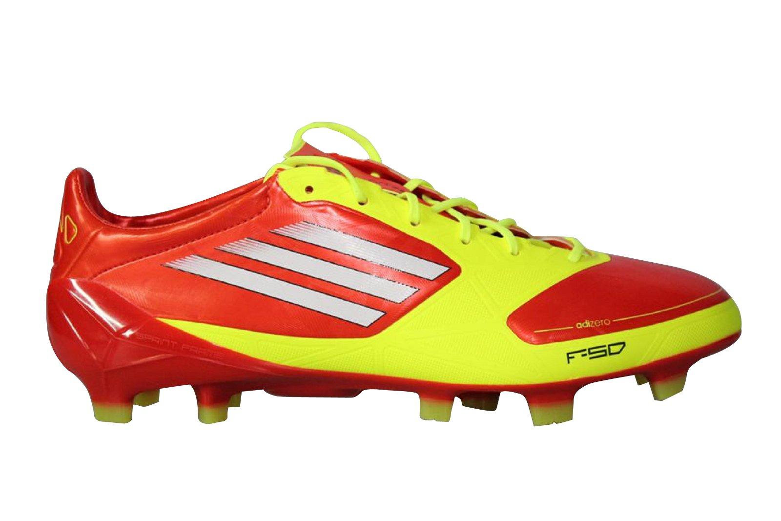 Amazon.com: adidas adizero F50 TRX FG SYN (Orange/Yellow/White ...