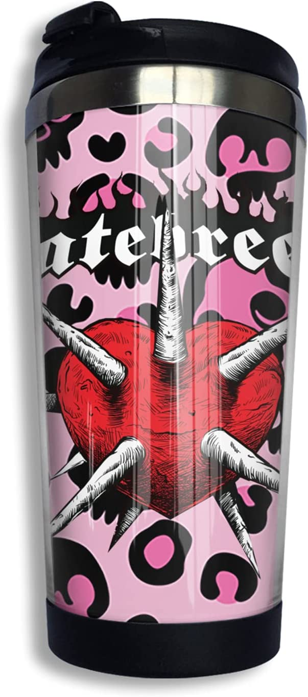 Hatebreed Agnostic Max 83% Direct stock discount OFF Insulated Tumblers Coffee Travel With Lid Mug