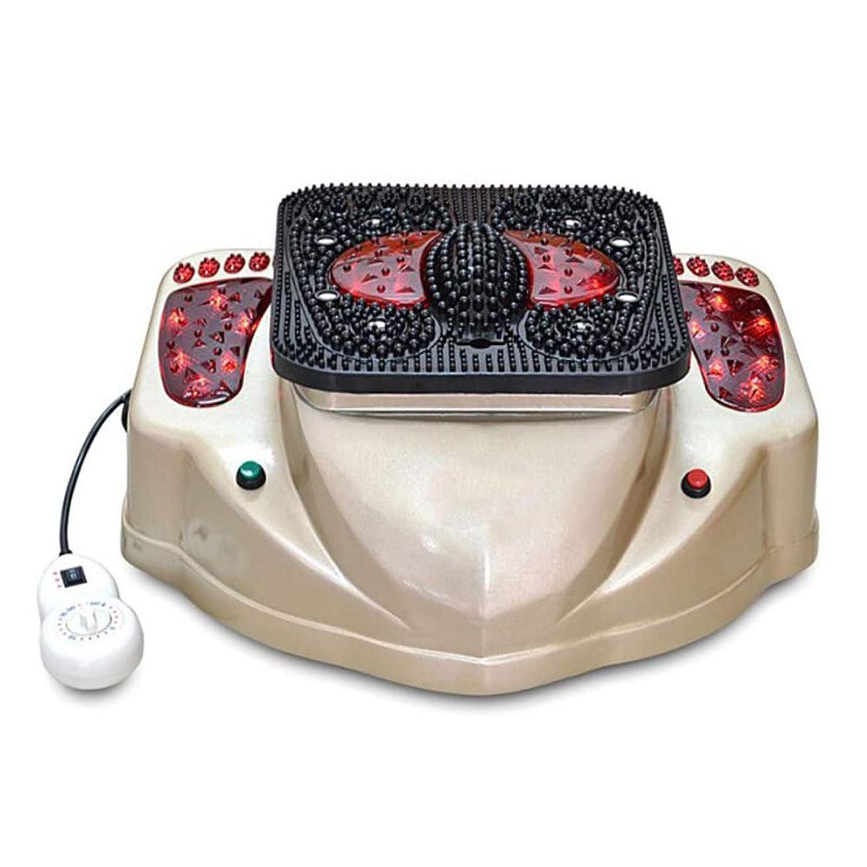 救出有毒なボイド調整可能 電気足マッサージャー低周波パルス刺激ポイント血液循環機は疲れた足のためのマッサージ技術の様々なをシミュレートします リラックス, Gold