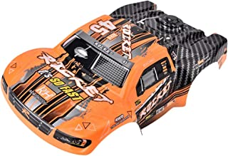 Dilwe RC Truck Body Shell, ABS RC Car 1/16 Scale Short Course RC Body Shell for REMO RC Upgrade Accessory(D2603)