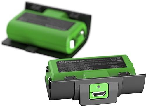 Power A - Kit Play & Charge pour Manettes sans Fil Xbox Series X/S / Xbox One, Compatible avec la Station de Charge X...
