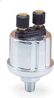 XIAOFANG Fangxia Store Sensor de presión de Aceite VDO Universal 0 a 10 Barras 1 / 8NPT Generador Diesel Parte 10mm Equipo de tripulación de Acero Inoxidable Sensor de presión de Alarma