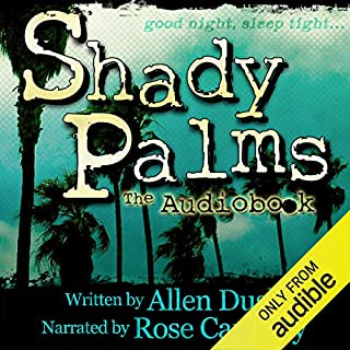 Shady Palms audiobook cover art