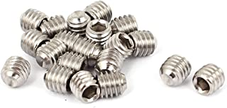M4 x 3mm 50pcs//lot M4 4mm A2 Stainless Steel Cup Point Grub Hex Socket Set Screws Metric DIN916