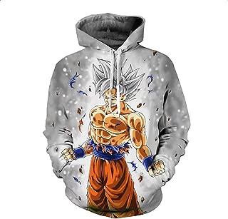 Unisex Dragon Ball Long Sleeves Hoodie Sweatshirt