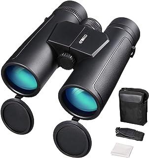 comprar comparacion ENKEEO Prismáticos 10x42mm Binoculares Impermeables FMC BAK-4 Roof Compatible con el Teléfono Clear Vision para Conciertos...