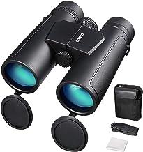 ENKEEO Prismáticos 10x42mm Binoculares Impermeables FMC BAK