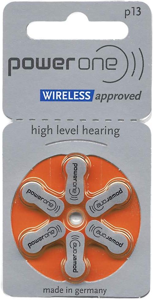 Powerone Mercury Free p10 Batterie PowerOne P10 Hearing Aid Battery St/ück 1