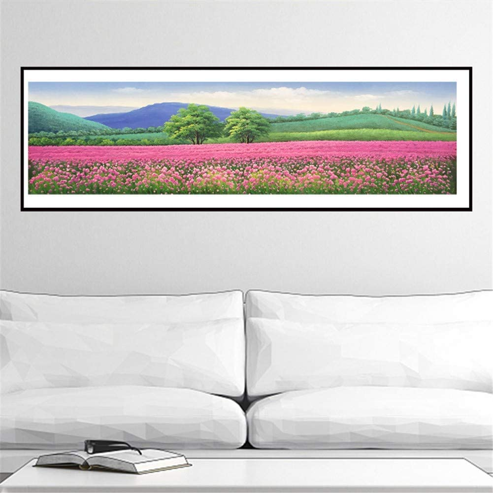 Diamond Painting Max 52% OFF Large Size Spring Landscape DIY Tucson Mall 5D Art