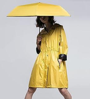 ZEMIN ポンチョ レインウェア レインコート ポンチョ ウインドブレーカー 防水 カバーとができますヒットツーリズム2色2サイズ (色 : Umbrella raincoat set, サイズ さいず : XL)