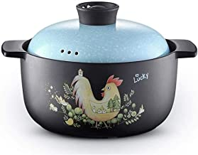 Braadpan Stoofpot Huishoudelijke gassoep Handgemaakte kookpot gemaakt van klei Terracotta Traditionele verschillende ontwe...