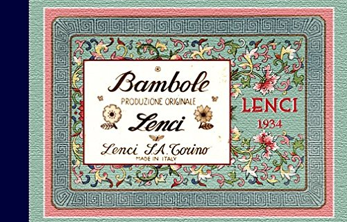 Lenci Dolls : Replica of 1934 Salemens Samples Catalog Catalogue Catalogo (Felt cloth doll examples from Torino Italy)