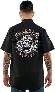 Lucky 13 Men's Frankie's Garage Work Shirt Black