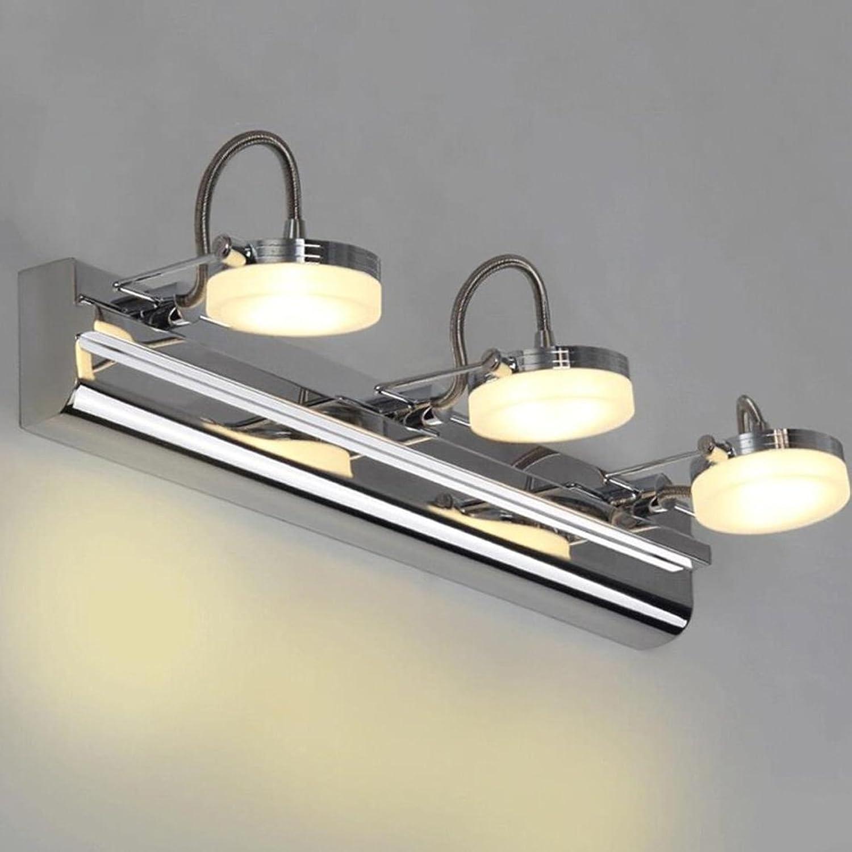 Badezimmer-Wand-Lampe Edelstahl-Spiegel-Lampe ...