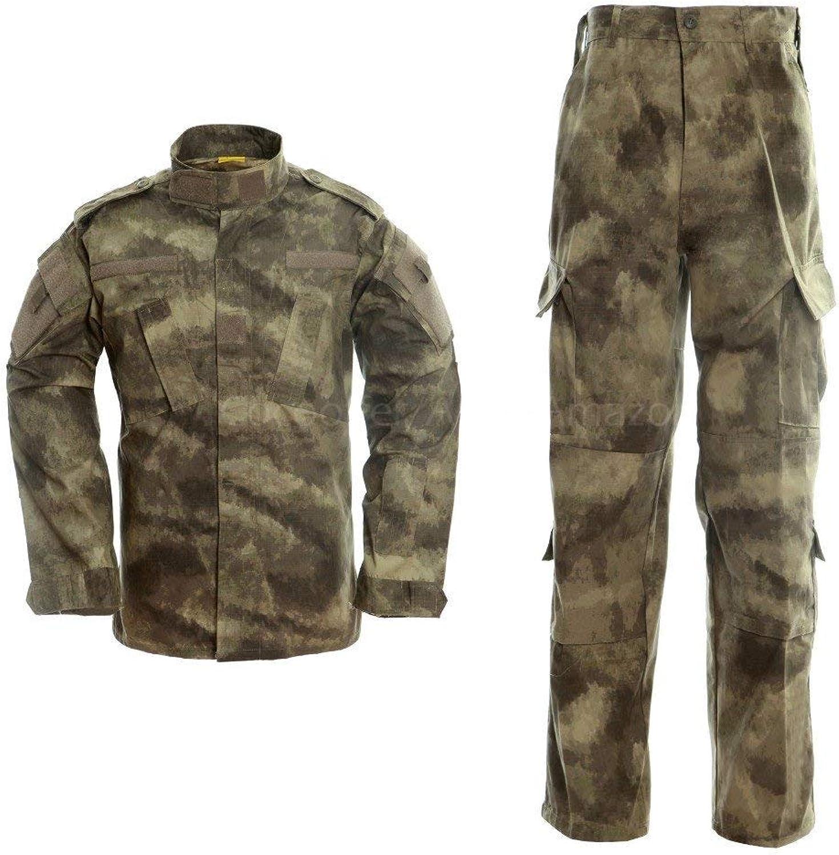 Shyonda Mens Tactical Camouflage Uniform Anzug 2 Stücke Sets Outdoor Jagd Trekking Camping Military Combat wasserdichte Wanderjacken + Camo Hosen Hosen