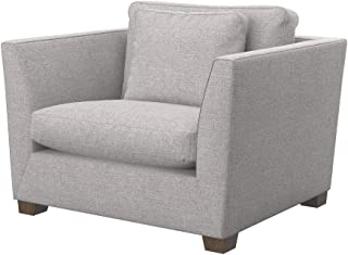 Soferia Replacement Cover for IKEA Stockholm Armchair Cover, Fabric Naturel Lilly Beige