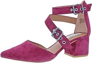 Steve Madden Womens Dia Pointed Toe Block Heel Pumps Purple 11 Medium (B,M)