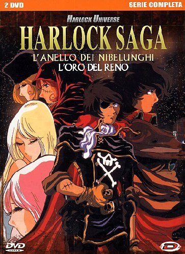 Harlock Saga - L´Anello Dei Nibelunghi (Box 2 Dv)