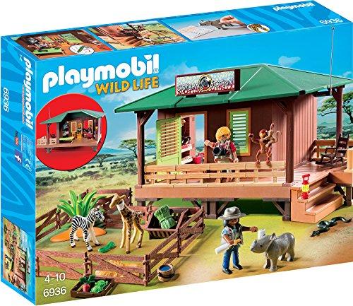 Playmobil 70766 - Rangerstation mit Tieraufzucht