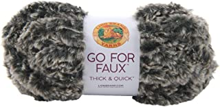 Lion Brand Yarn Go For Faux Thick & Quick-mink