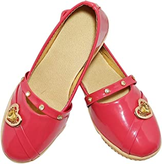 FOOTONREST Latest Collection Sandals for Girls Comfortable Red, White, Coffee Belly for Kids and Girls 1 Year to 10 Year
